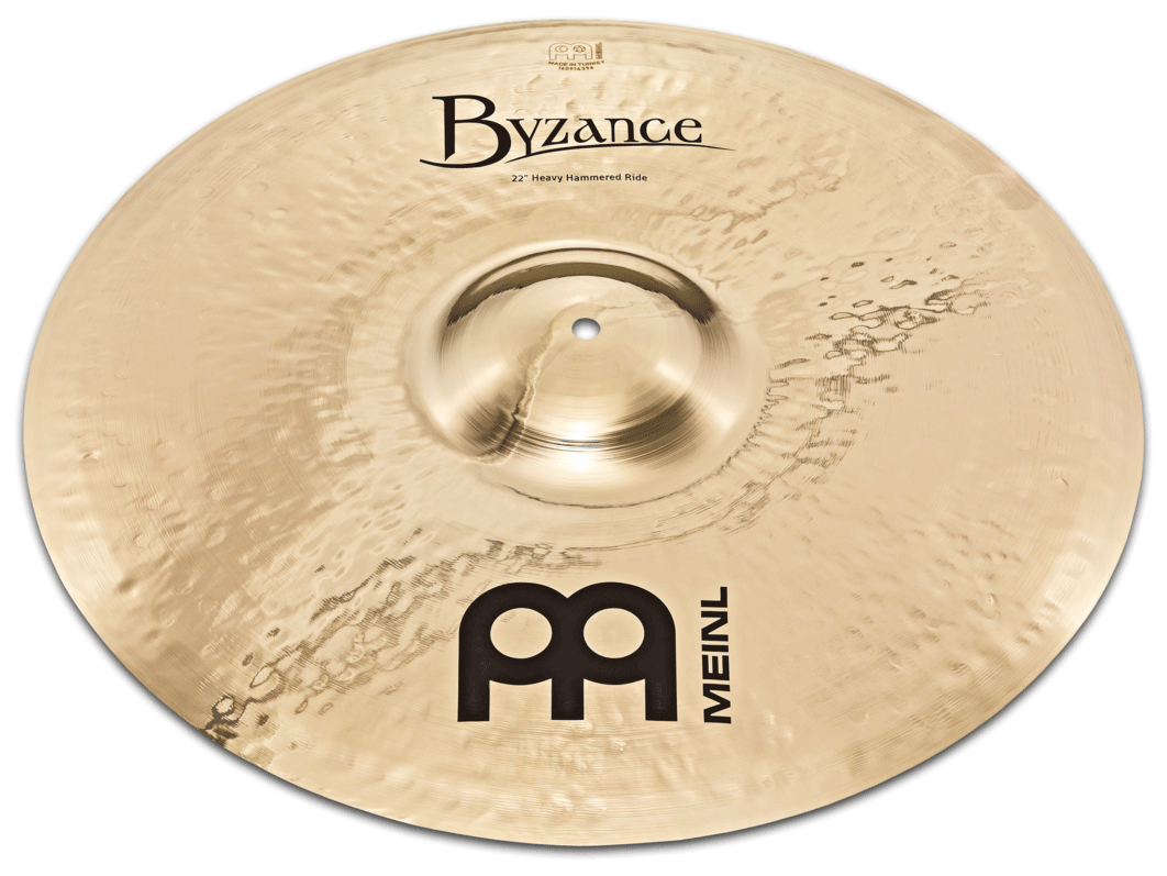 "22"" Byzance Brilliant Heavy Hammered Ride"