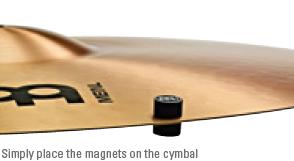 Cymbal Tuners 取付方法