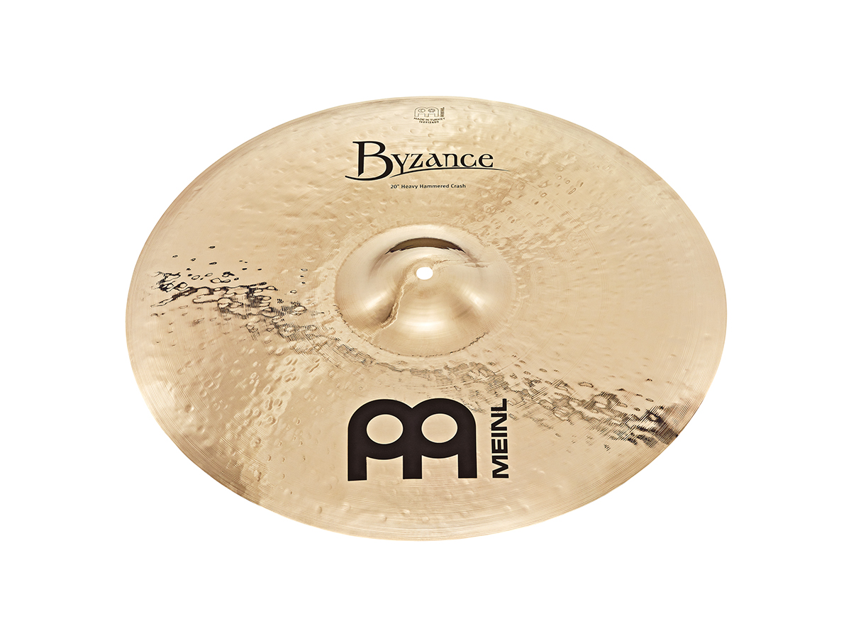"18"" Byzance Brilliant Heavy Hammered Crash"
