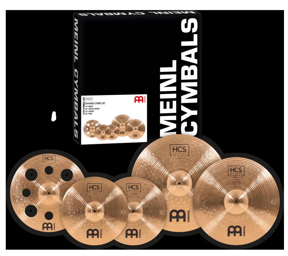 HCS Bronze Expanded Cymbal Set