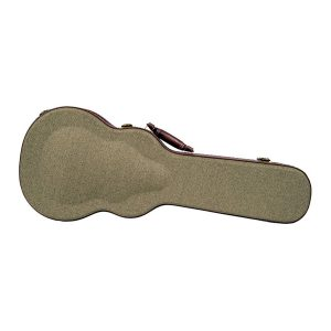 Olive Tweed Archtop Ukulele Hard Case