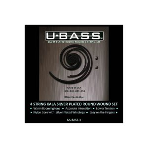U・BASS Strings Silver Plated Round Wound
