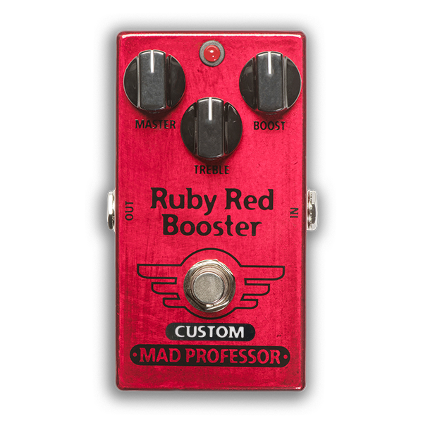 """RUBY RED BOOSTER """"NASHVILLE HOT MIDS SOLO BOOST"""" MOD"""