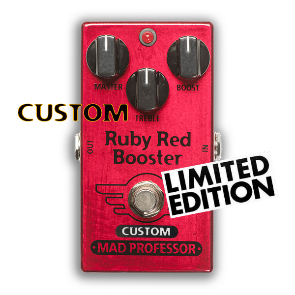 "RUBY RED BOOSTER ""NASHVILLE HOT MIDS SOLO BOOST"" MOD"