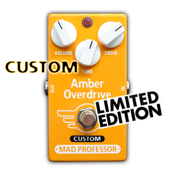 AMBER OVERDRIVE FOR BASS MOD